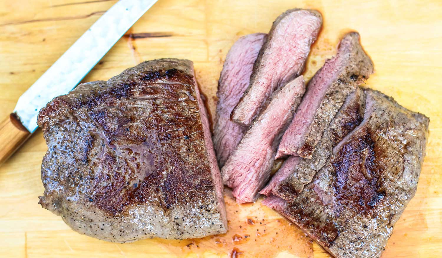 Sous Vide Velvet Steak Recipe featured on SOUS ALL THE VIDES